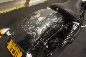 Custom Airbrushing motorcylces