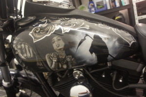 Harley custom paint